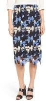 Women's Emerson Rose Multicolor Lace Skirt