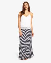 Phase Eight Chevron Stripe Maxi Skirt