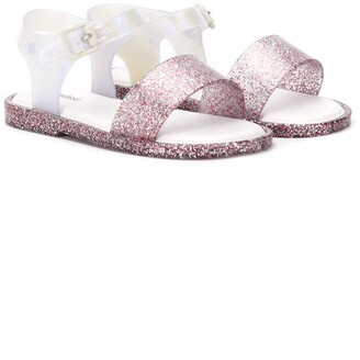 Mini Melissa Glitter Sandals