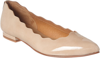 French Sole Tonic Patent Flat