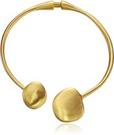 Kenneth Jay Lane Disc Ends Collar Necklace