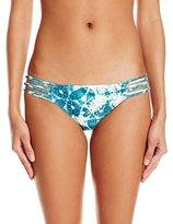 O'Neill Women's Tyler Knotted Tab Side Bikini Bottom