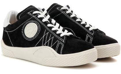 Eytys Wave Rough suede sneakers