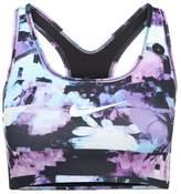 Nike Performance CLASSIC SWOOSH BRA Sports bra wolf grey/black/white