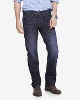 Express straight leg slim fit jean