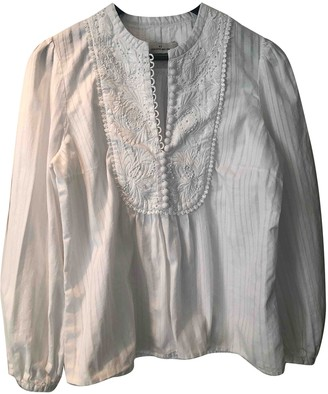 By Malene Birger White Cotton Top for Women