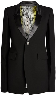 Rick Owens Tailored Tuxedo Jacket