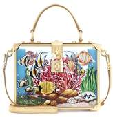 Dolce & Gabbana Dolce Box clutch in Plexiglas® and leather