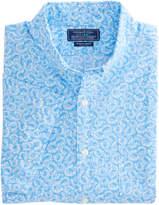 Vineyard Vines Short-Sleeve Horseshoe Printed Slim Murray Shirt