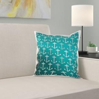 Anchor Pillow Cover East Urban Home