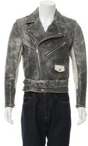 Acne Studios Distressed Leather Jacket