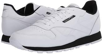 Reebok Classic Leather MU (White/Black/Silver Metallic) Men's Classic Shoes