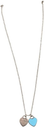 Tiffany & Co. & Co Return to Silver Silver Necklaces