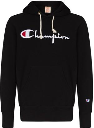Champion Script Embroidered Logo Hoodie