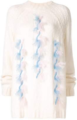 DELPOZO chunky knit jumper