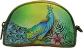 Anuschka HAND PAINTED LEATHER COIN & KEY ORGANIZER POUCH Coin Purse