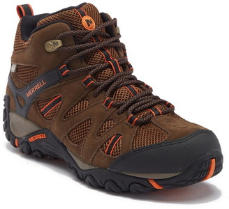 Merrell Deverta Mid Ventilation Waterproof Suede Hiking Boot