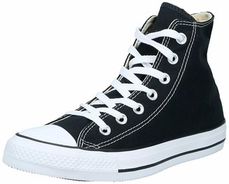 Converse Unisex-Adult Chuck Taylor All Star Hi-Top Trainers Black- 3 UK