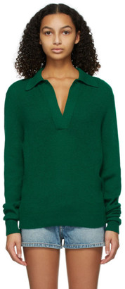 KHAITE Green Jo Sweater