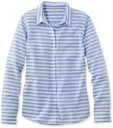 L.L. Bean L.L.Bean Lakewashed Cotton Shirt, Stripe