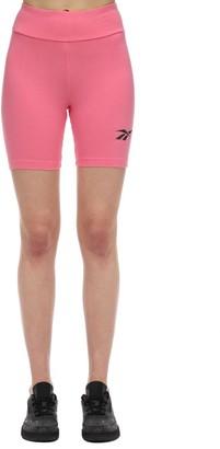 Reebok Classics Cl V Logo Cotton Bike Shorts