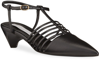 Stella McCartney Cone-Heel Gladiator Sandals