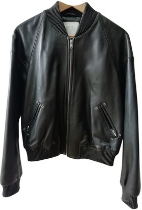 Surface to Air Black Leather Leather Jacket for Women