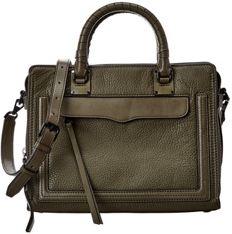 Rebecca Minkoff Bree Medium Top Zip Leather Satchel
