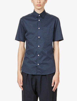 Tiger of Sweden Nitor slim-fit cotton-poplin shirt
