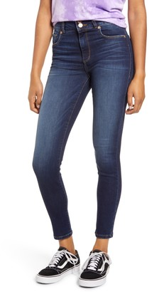STS Blue Brie Double Button High Waist Ankle Skinny Jeans