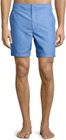 Robert Graham Ocean Classic Fit Swim Trunks, Teal