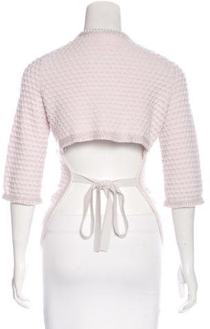 Chanel Cashmere Embroidered Cardigan