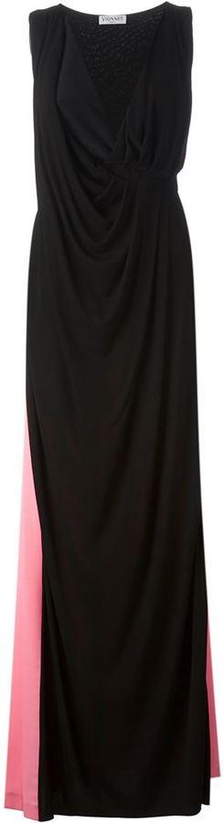 Vionnet draped gown