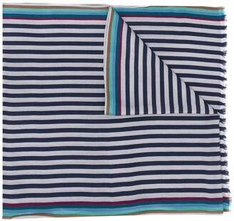 Paul Smith Bold Stripe Print Scarf