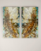 "John-Richard Collection Intergalactic I & II"" Giclees, 2-Piece Set"