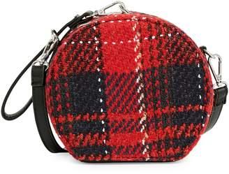Design Lab Mini Canteen Plaid Crossbody Bag