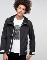 Love Moschino Hooded Zip Thru Jacket with Logo