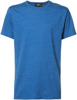 A.P.C. round neck T-shirt - men - Cotton/Acetate - M