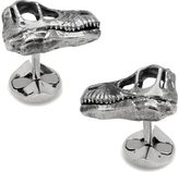 Cufflinks Inc. Men's Sterling Velociraptor Dinosaur Skull Cufflinks