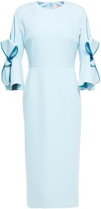 Roksanda Bow-embellished Stretch-crepe Dress