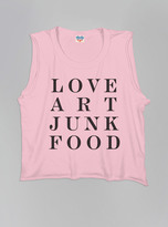 Junk Food Clothing Kids Girls Love Art Tank-patti-xs