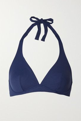 Eres Les Essentiels Bandito Underwired Halterneck Bikini Top - Navy