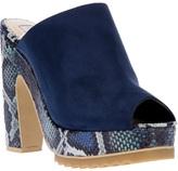 Stella McCartney print platform shoe