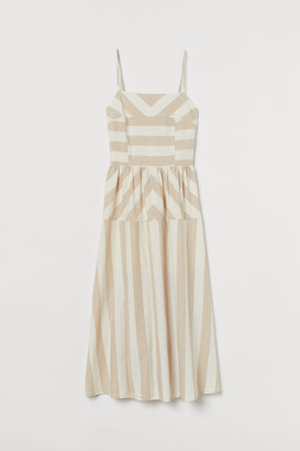 H&M Sleeveless Dress - Beige