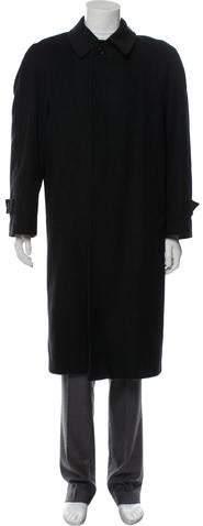 Alexander McQueen Wool & Cashmere-Blend Overcoat