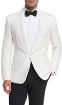 Ralph Lauren Anthony Wool Dinner Jacket, White