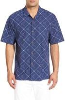 Tommy Bahama Men's Big & Tall Rhumba Dobby Silk Blend Camp Shirt