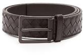Bottega Veneta Intrecciato Leather 3.5cm Belt
