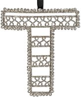 Wire Letter Ornament, T