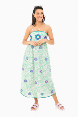 Nimo with Love Green Dots Agate Dress